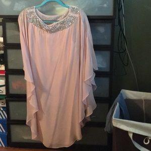 a736a5d5 Xscape Dresses | Flocked Velvet Gown Nwot | Poshmark